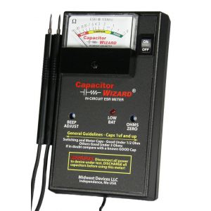 CAPWIZ Capacitor Wizard  CAP1B  by Midwest Devices