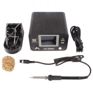 Xytronic LF-2900 soldering station high output of 100 watts is more than adequate to meet the present and future needs of lead-free soldering