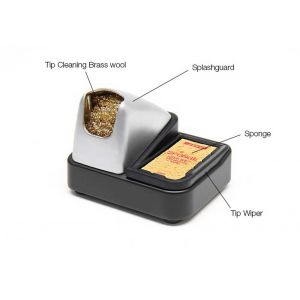 JBC Tools CL6166 tips cleaner and sponge